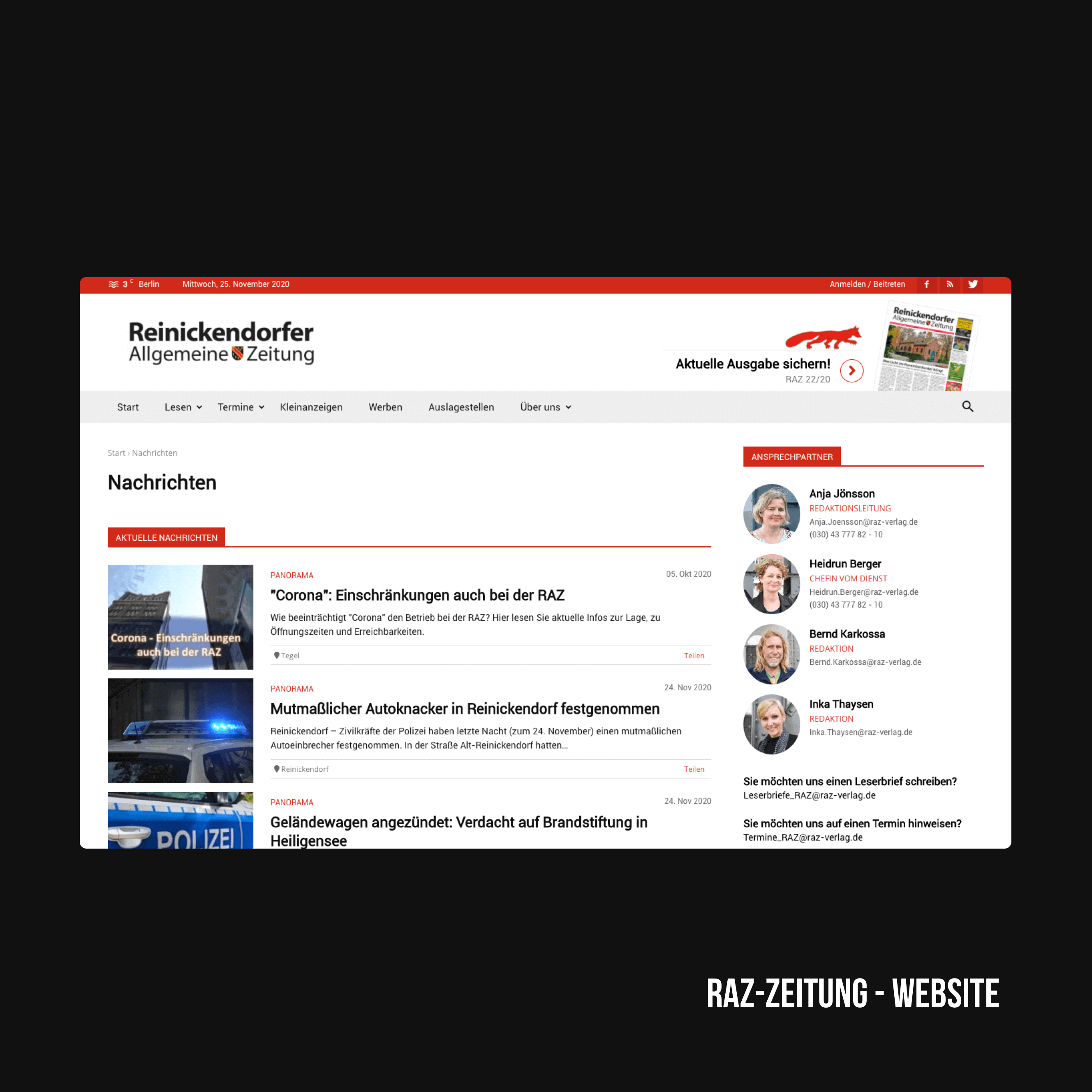 Online Marketing Agentur aus Berlin - BxW - Projekte und Referenzen